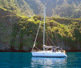 A yacht charter in Madeira