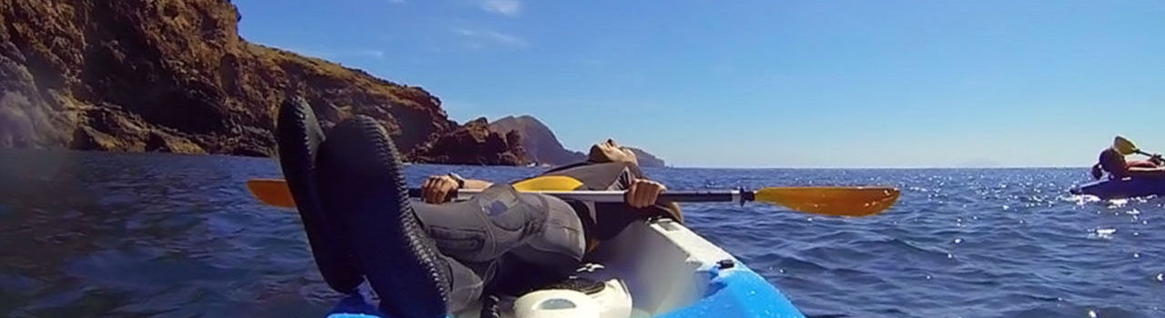 Resting in a Kayak in Madeira