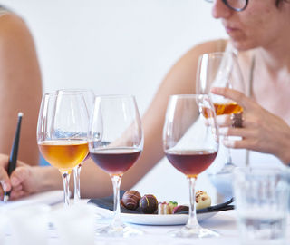 madeira wine and chocolate seminar and tasting