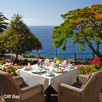 Breakfast at Cliff Bay